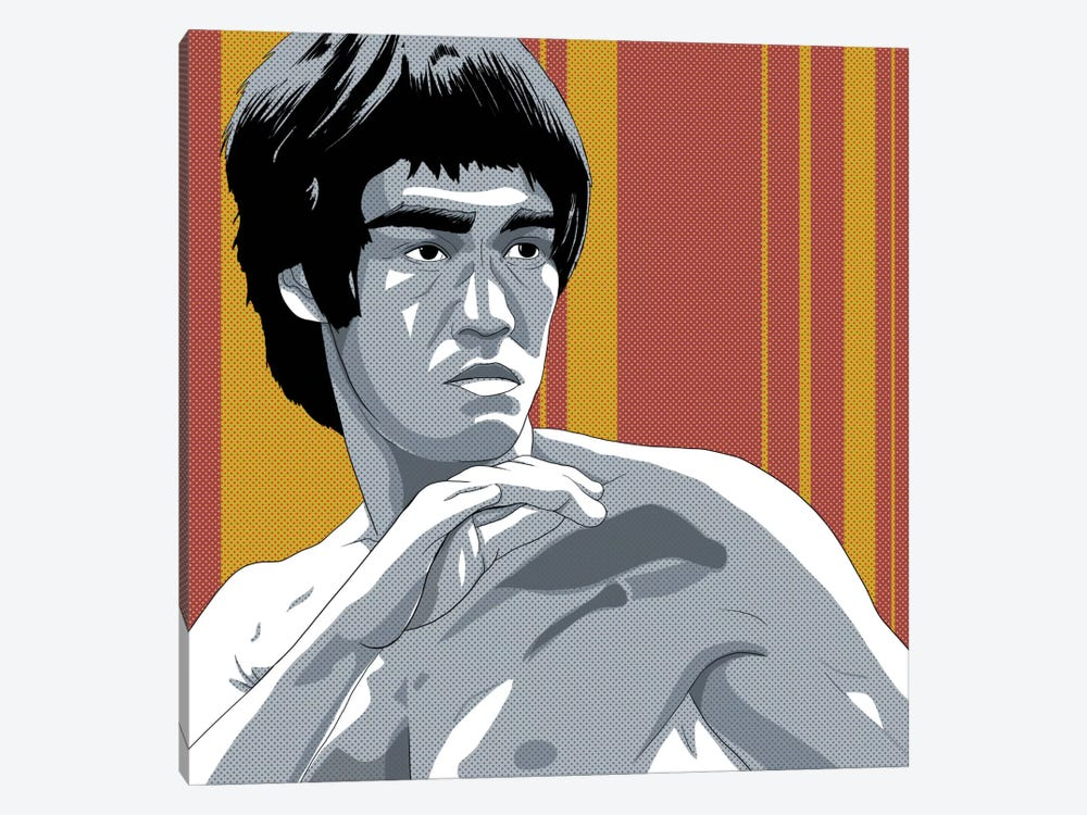 Kung Fu Fighter by 5by5collective 1-piece Art Print