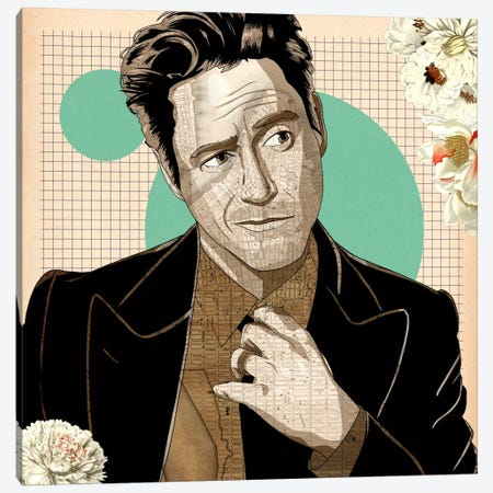Smug RDJ #2 Canvas Print #ICA903} by 5by5collective Canvas Print