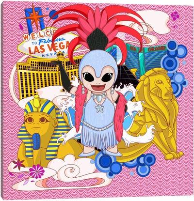 Vegas Colors Canvas Art Print