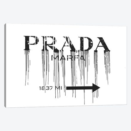 This Way (Drips) Canvas Print #ICA952} by 5by5collective Canvas Wall Art