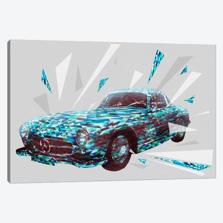 Vintage Gullwings Canvas Print #ICA973} by 5by5collective Canvas Wall Art