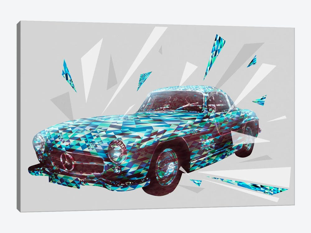 Vintage Gullwings by 5by5collective 1-piece Canvas Art
