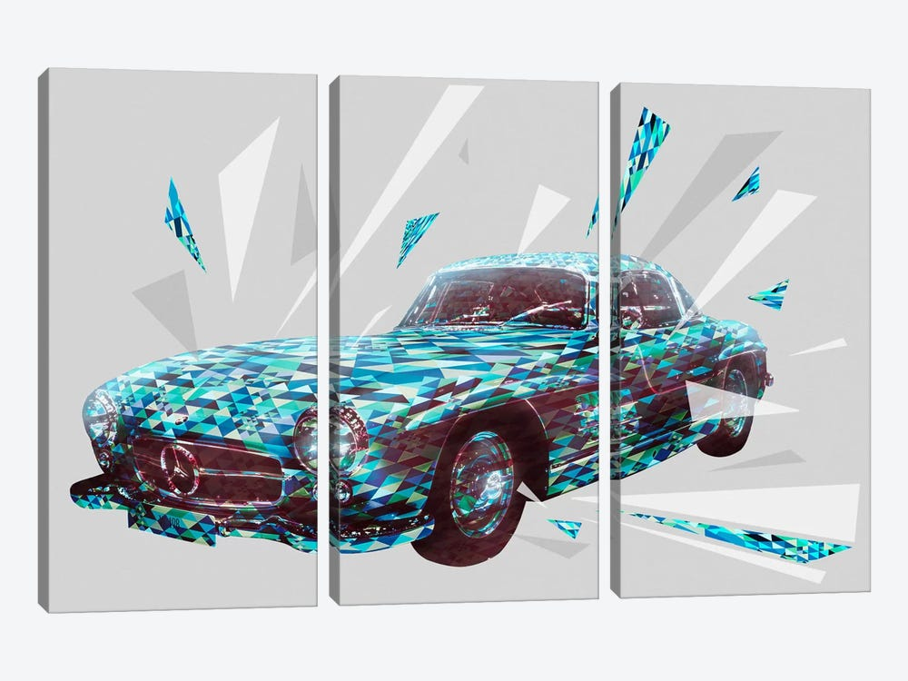 Vintage Gullwings by 5by5collective 3-piece Canvas Art