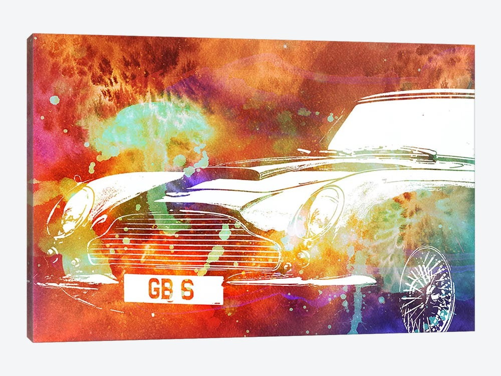 Solar Roadster by 5by5collective 1-piece Canvas Art Print