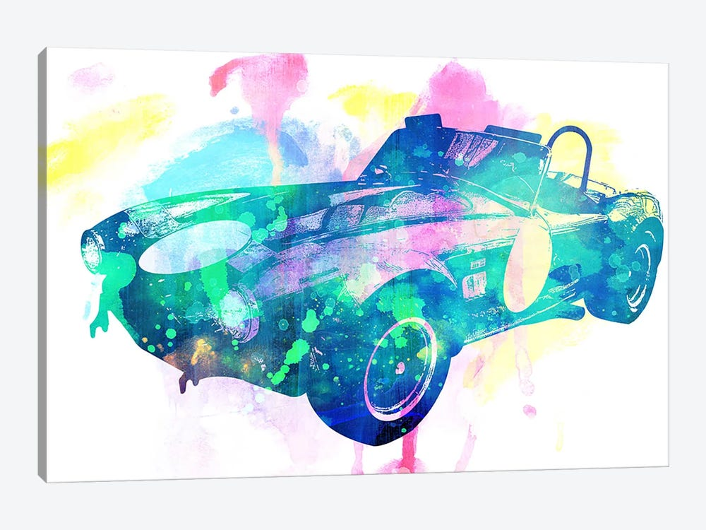 King Coupe by 5by5collective 1-piece Canvas Artwork