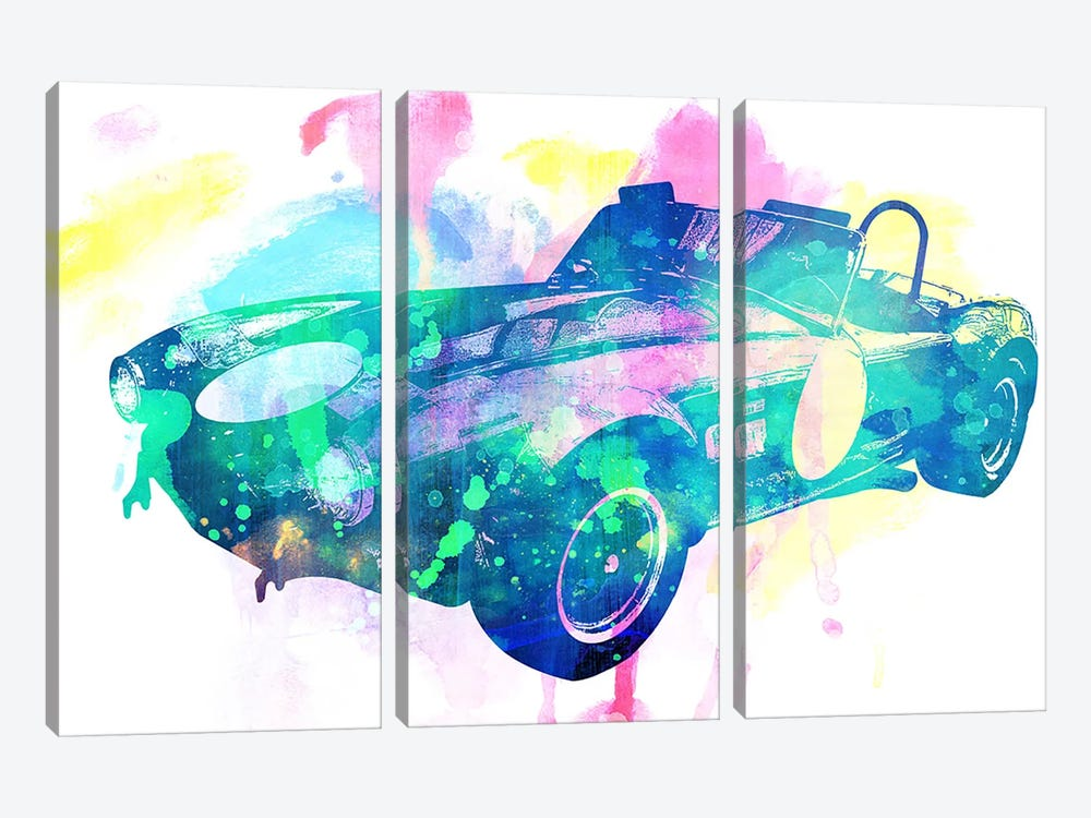 King Coupe by 5by5collective 3-piece Canvas Artwork