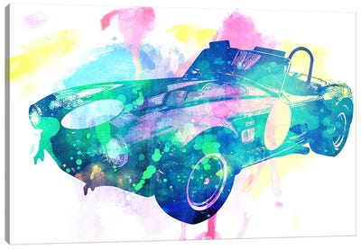 King Coupe Canvas Art Print
