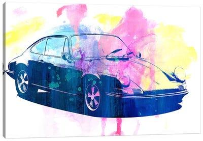 Watercolor Emergency Canvas Print #ICA984