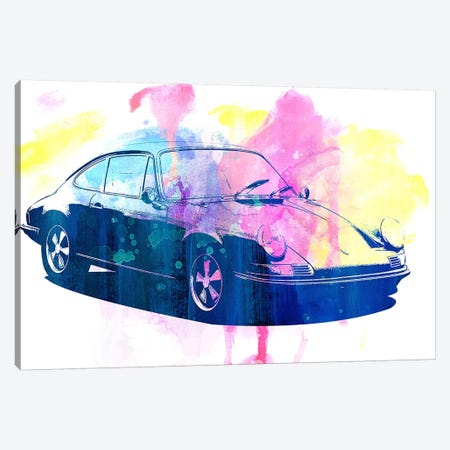 Watercolor Emergency Canvas Print #ICA984} by 5by5collective Canvas Artwork