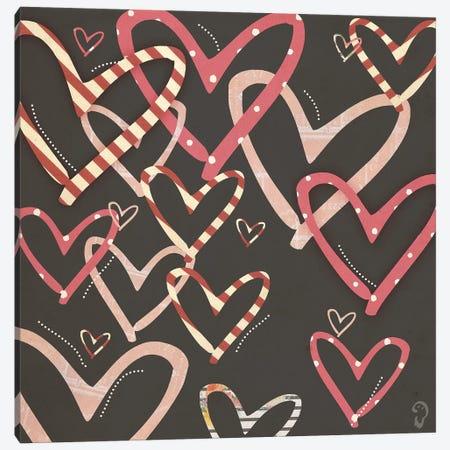 loufoque On Noir Canvas Print #ICR17} by imnotacrook Canvas Artwork