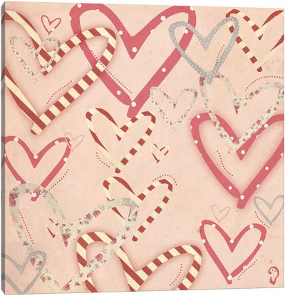 loufoque On Rose Canvas Art Print