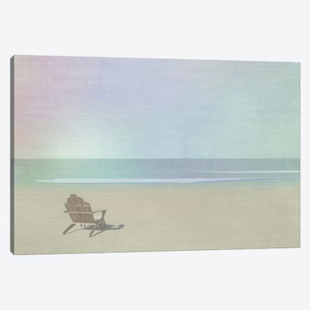 Serene Beach Canvas Print #ICS101} by Noah Bay Canvas Art Print