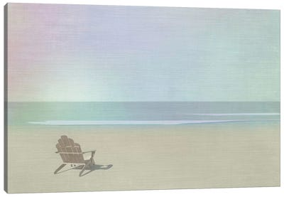 Serene Beach Canvas Art Print