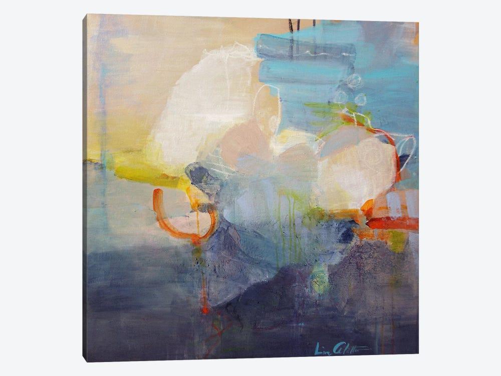Above the Clouds by Lina Alattar 1-piece Canvas Art Print
