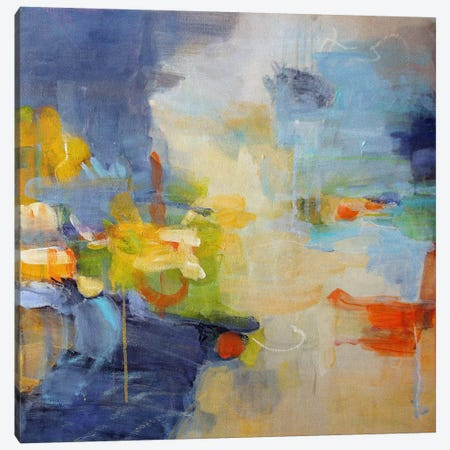 Restless Mind 3-Piece Canvas #ICS12} by Lina Alattar Canvas Wall Art