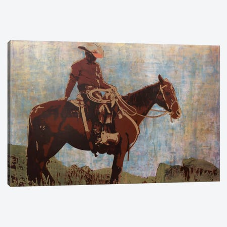 Western Moment Canvas Print #ICS13} by Maura Allen Canvas Artwork