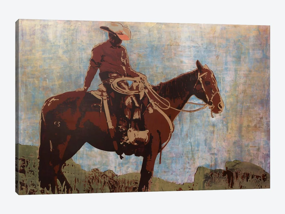 Western Moment by Maura Allen 1-piece Canvas Wall Art
