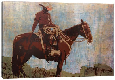 Western Moment Canvas Art Print