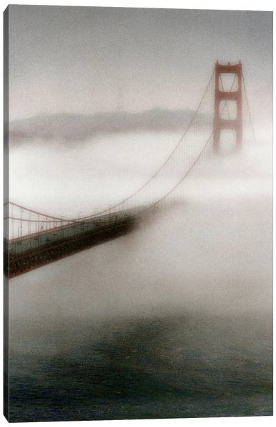 The Fog Comes In Canvas Art Print
