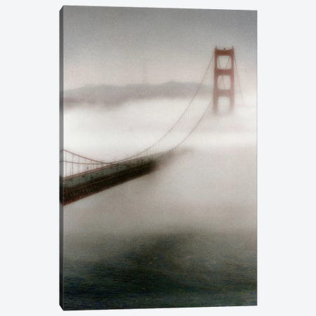 The Fog Comes In Canvas Print #ICS149} by Laura Culver Canvas Print