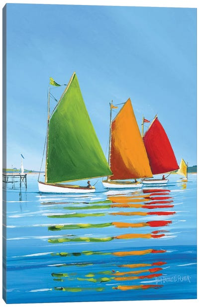 Cape Cod Sail Canvas Art Print