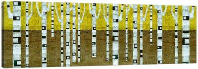 Birches in Fall Canvas Art Print