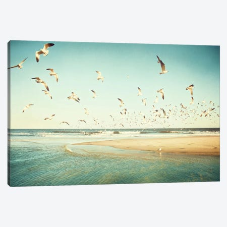Freedom Canvas Print #ICS161} by Carolyn Cochrane Art Print