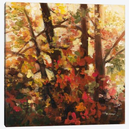 Backlit Leaves III Canvas Print #ICS170} by Michelle Condrat Canvas Artwork