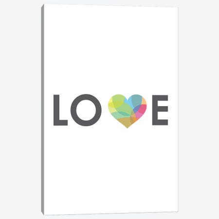 Love Canvas Print #ICS192} by Volkan Dalyan Canvas Artwork