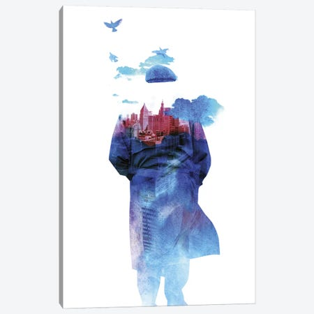Get Away from Town Canvas Print #ICS197} by Robert Farkas Canvas Art Print