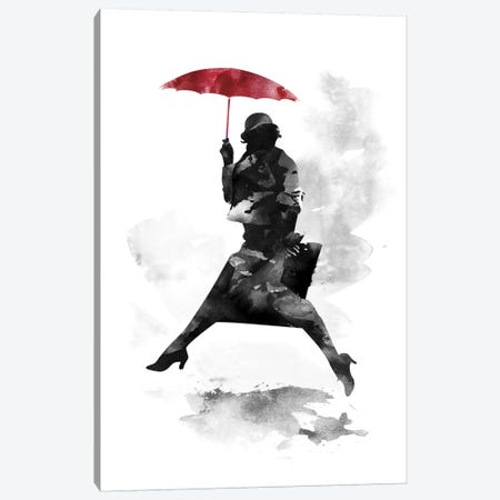Puddle Jumper Canvas Print #ICS198} by Robert Farkas Canvas Artwork