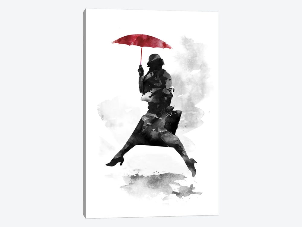 Puddle Jumper by Robert Farkas 1-piece Canvas Art