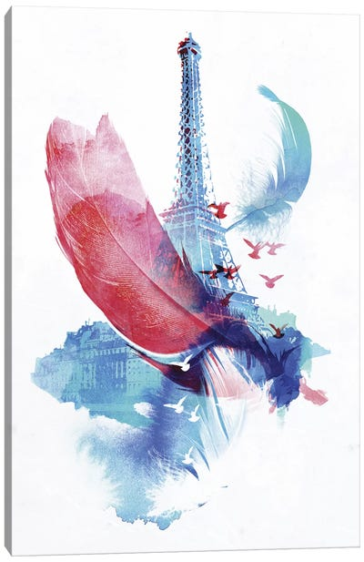 Pigeons of Paris Canvas Art Print