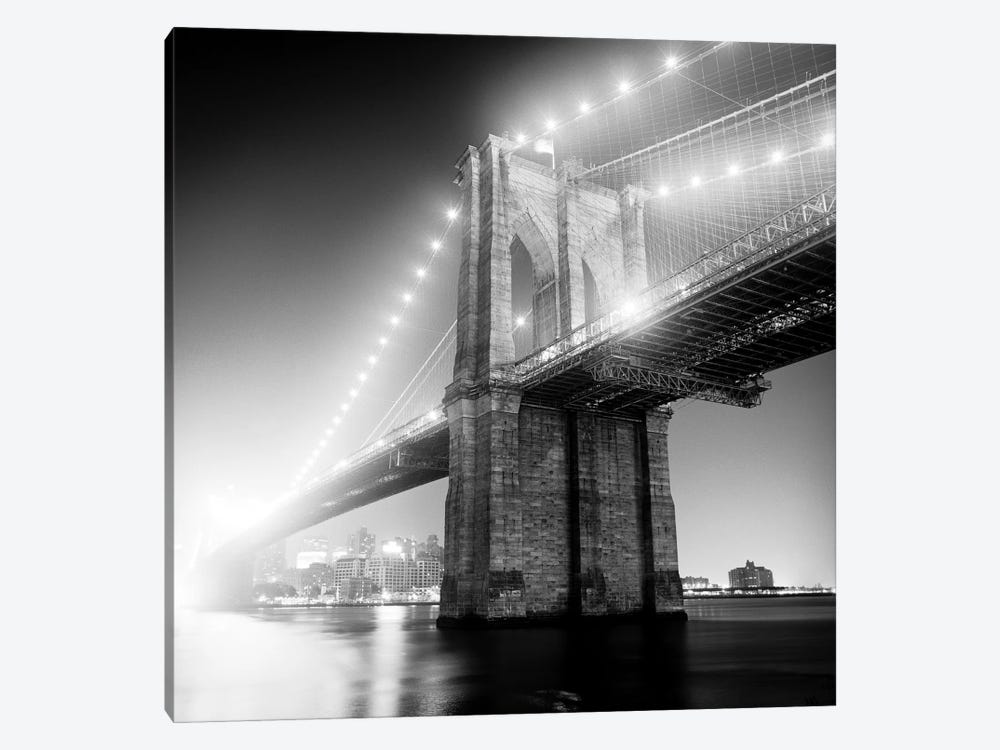 Brooklyn Bridge by Adam Garelick 1-piece Canvas Print