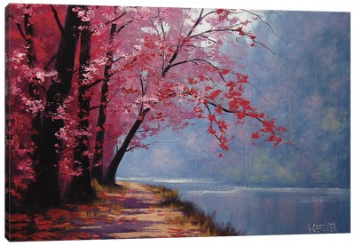 River Bend Canvas Print #ICS229