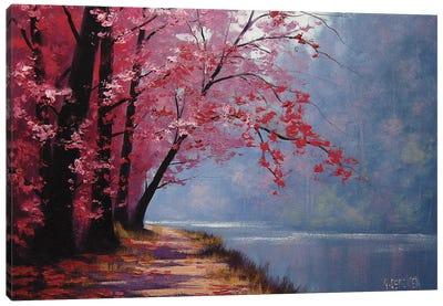 River Bend Canvas Art Print