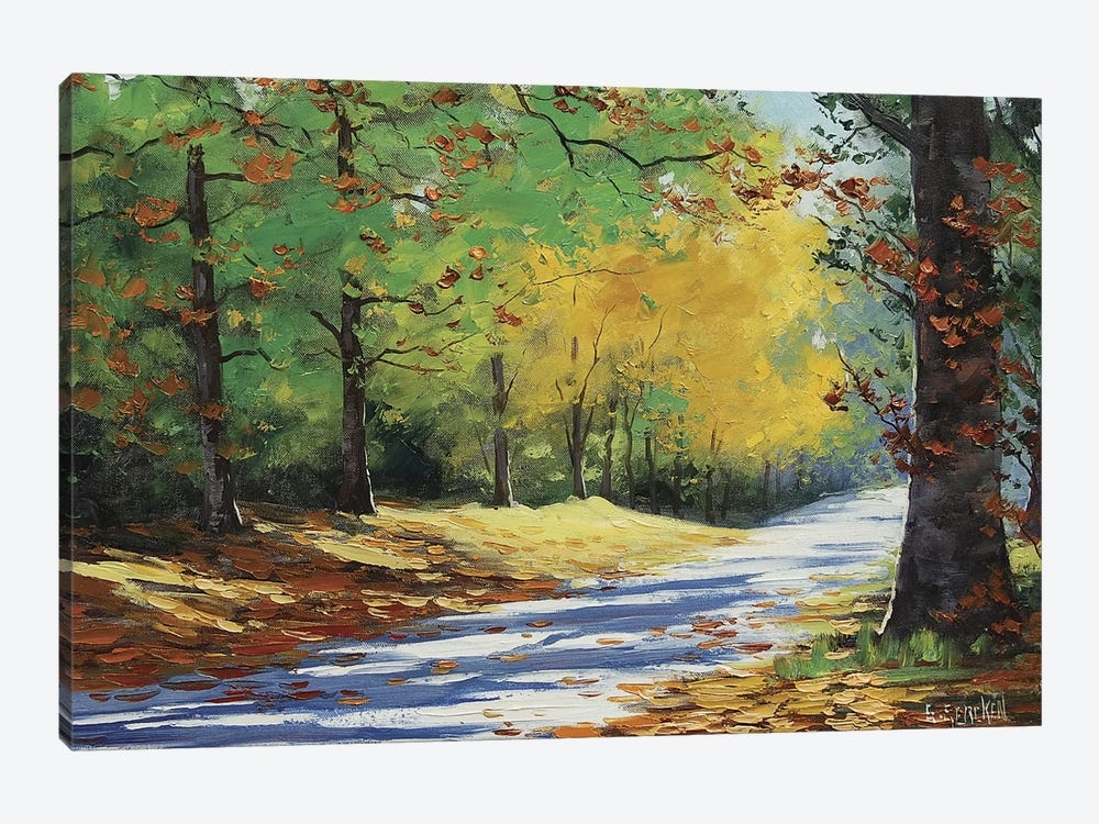 Vibrant Autumn by Graham Gercken 1-piece Canvas Wall Art