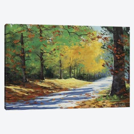 Vibrant Autumn Canvas Print #ICS230} by Graham Gercken Art Print