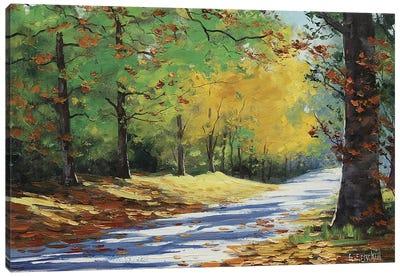 Vibrant Autumn Canvas Art Print