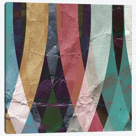 Geometric Design 4 Canvas Print #ICS232} by GraphINC Studio Art Print