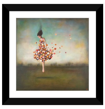 Boundlessness in Bloom Framed Art Print