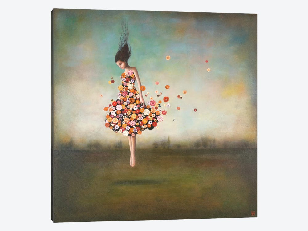 Boundlessness in Bloom by Duy Huynh 1-piece Canvas Art Print