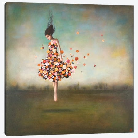 Boundlessness in Bloom Canvas Art Print