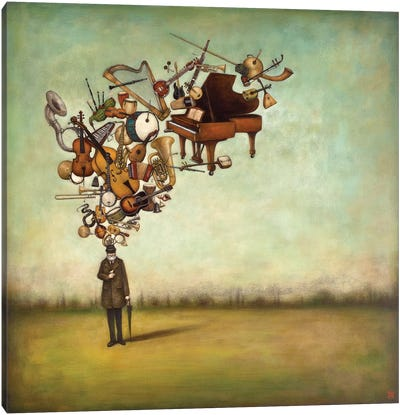 Thanks for the Melodies Canvas Art Print