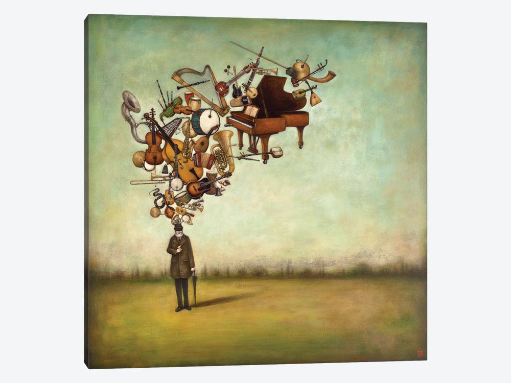Thanks for the Melodies by Duy Huynh 1-piece Canvas Art