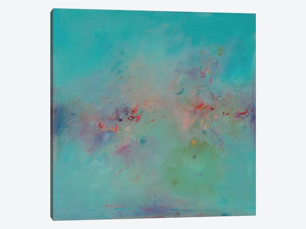 Untitled Abstract No. 3 by Ed Handelman 1-piece Canvas Artwork