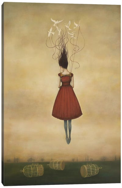 Suspension of Disbelief Canvas Art Print