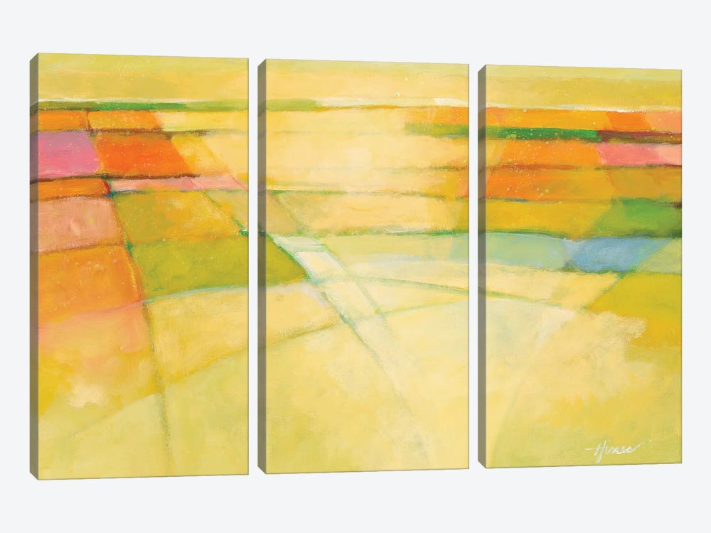 Through the Mist by Hines Hines 3-piece Canvas Artwork