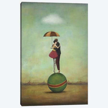 Circus Romance Canvas Print #ICS259} by Duy Huynh Canvas Print