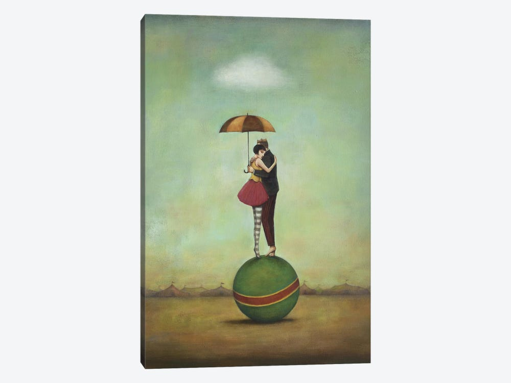 Circus Romance by Duy Huynh 1-piece Art Print